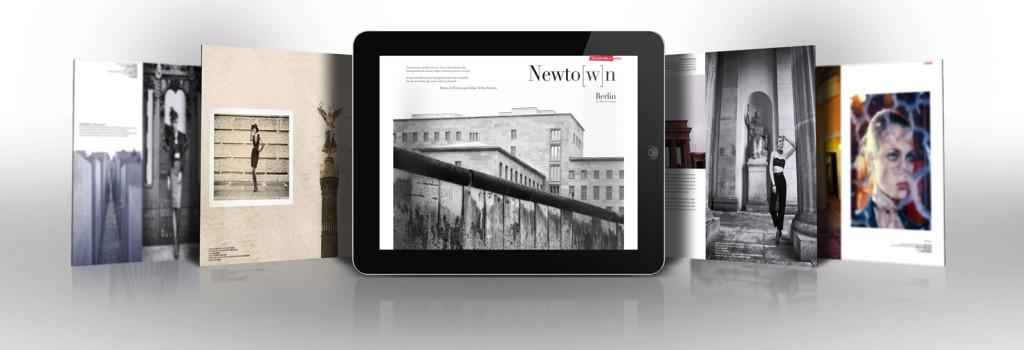 Sei Magazine editorial Berlin Newto(w)n
